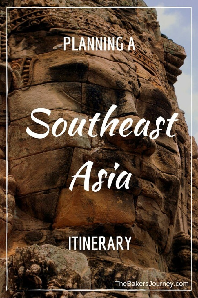 plan a southeast asia itinerary