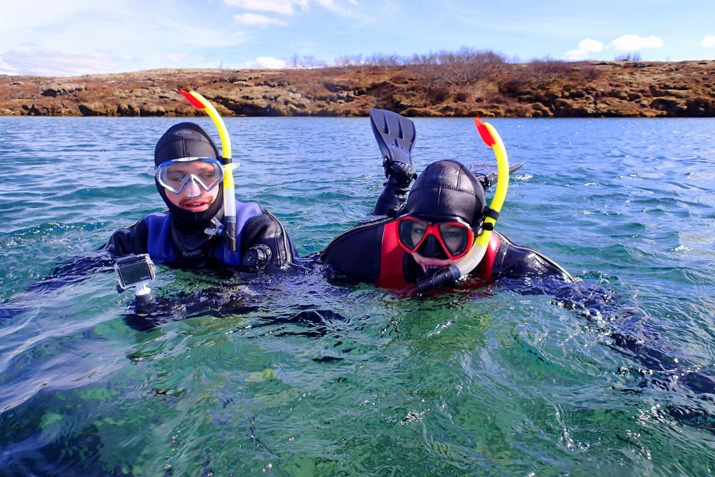 Dayna planned a snorkelling tour in Iceland without Matt knowing...