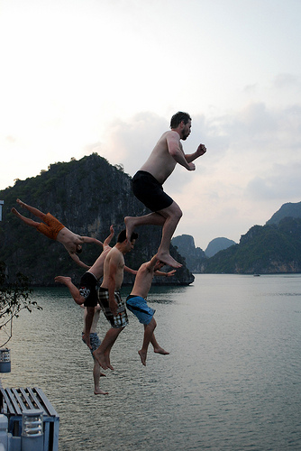 More the Fun! In Halong Bay