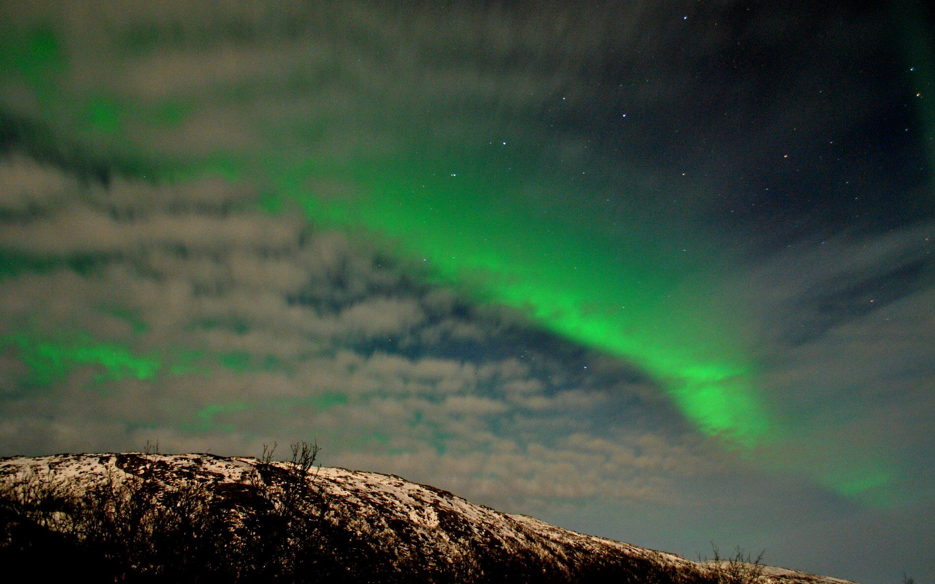 Chasing the Northern Lights in Norway