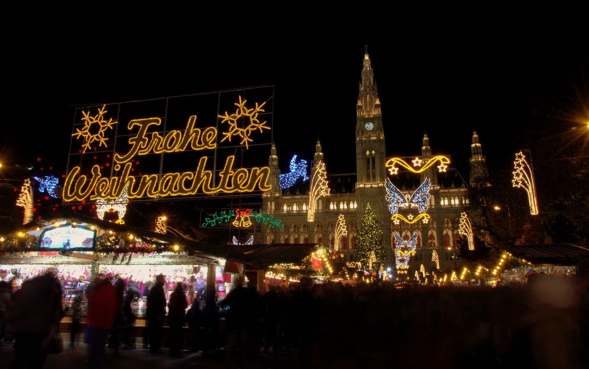 Weihnachtsmärkte in Vienna