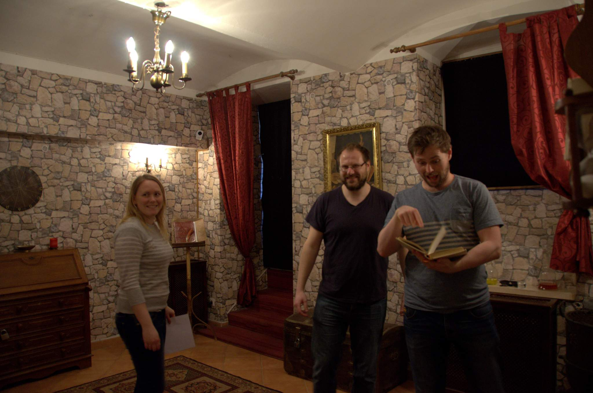 Four Idiots take on the Prague Mind Maze