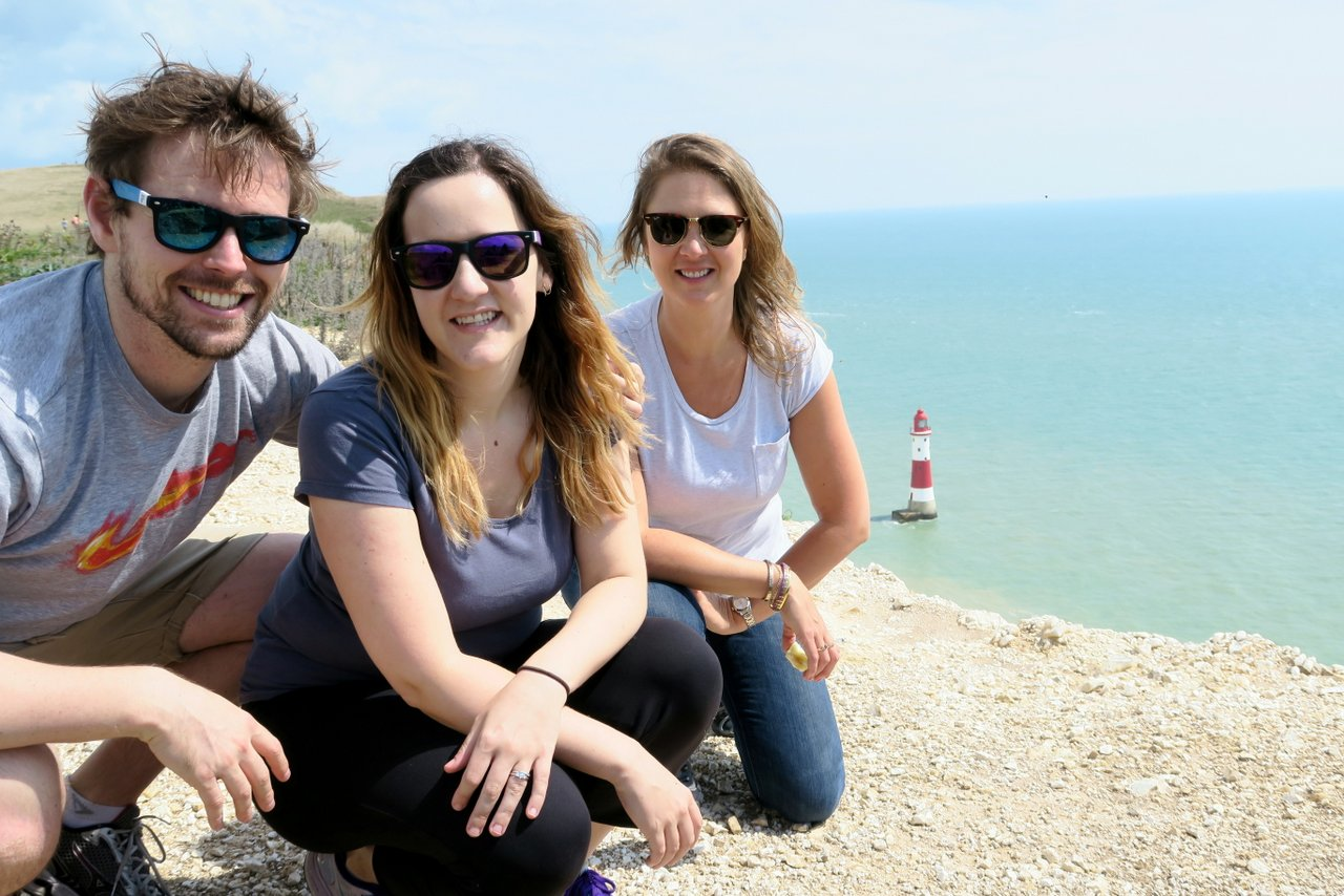 Beachy Head Walk (with bonus Airshow)