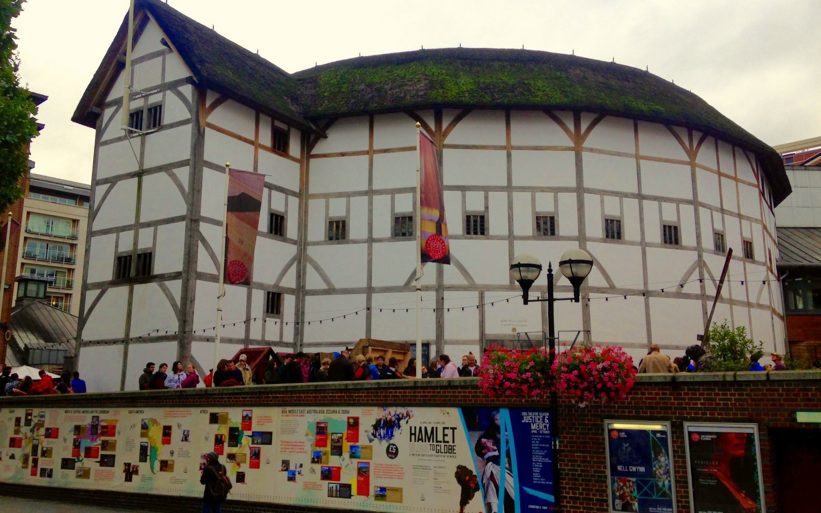 Just 'As You Like It' at Shakespeare's Globe Theatre
